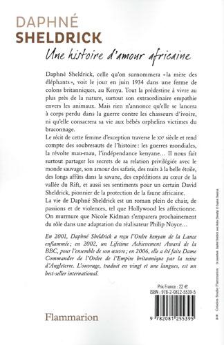 Daphne Sheldrick Une histoire d'amour africaine