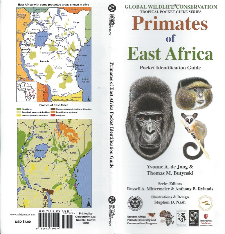 Primates of East Africa